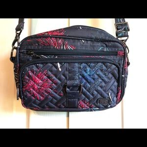 Lug RFID convertible crossbody or belt bag